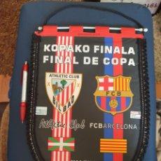 Coleccionismo deportivo: BANDERIN FINAL DE COPA ATHLETIC- BARCELONA 09. Lote 210753180