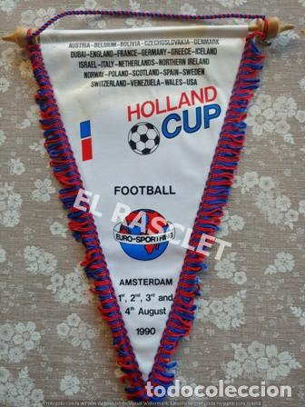 ANTIGÜO BANDERIN - FOOTBALL - COPA DE HOLANDA - AGOSTO 1990 (Coleccionismo Deportivo - Banderas y Banderines de Fútbol)