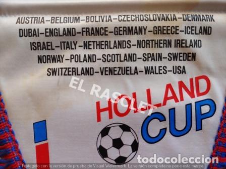 Coleccionismo deportivo: ANTIGÜO BANDERIN - FOOTBALL - COPA DE HOLANDA - AGOSTO 1990 - Foto 2 - 212620086