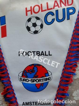 Coleccionismo deportivo: ANTIGÜO BANDERIN - FOOTBALL - COPA DE HOLANDA - AGOSTO 1990 - Foto 3 - 212620086