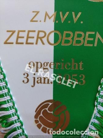 Coleccionismo deportivo: ANTIGÜO BANDERIN - FOOTBALL - Z.M.V.V. ZEEROBBEN - ENERO 1953 - Foto 2 - 212620501