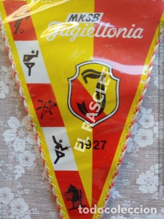Coleccionismo deportivo: ANTIGÜO BANDERIN -MKSB JAGIELLONIA - 1927 - Foto 2 - 212621135