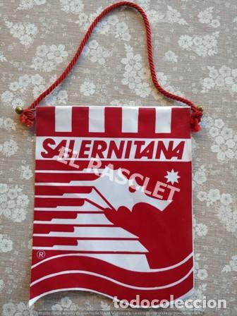 ANTIGÜO BANDERIN - SALERNITANA - CLUB DE FUTBOL SALERNO (Coleccionismo Deportivo - Banderas y Banderines de Fútbol)
