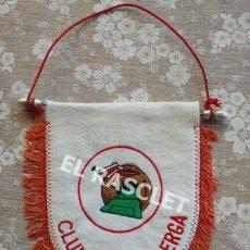 Coleccionismo deportivo: ANTIGÜO BANDERIN - CLUB ESPORTIU BERGA. Lote 212622161