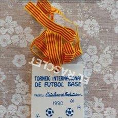 Coleccionismo deportivo: ANTIGÜO TORNEO INTERNACIONAL DE FUTBOL BASE - PUIG-REIG 1990. Lote 212623657