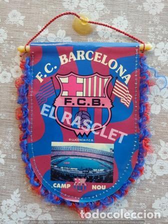 Coleccionismo deportivo: ANTIGÜO BANDERIN DE LUIS ENRIQUE -FC. BARCELONA - Foto 2 - 212628058