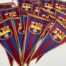 Collectionnisme sportif: LOTE 14 BANDERINES ANTIGUOS FUTBOL CLUB BARCELONA F.C.B. - BANDERÍN BARÇA. Lote 214549215