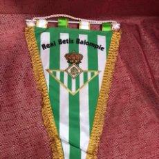Collectionnisme sportif: ANTIGUO BANDERÍN DEL REAL BETIS BALOMPIÉ. Lote 253553525