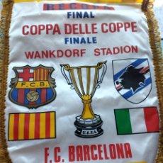 Collezionismo sportivo: BANDERIN FUTBOL CLUB BARCELONA. Lote 215254842