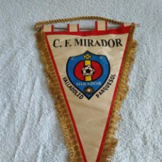 Coleccionismo deportivo: BANDERIN C.F. MIRADOR VALLADOLID PARQUESOL. Lote 216620873