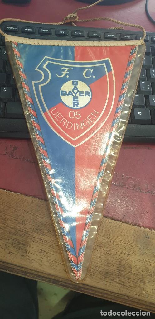 BANDERIN FUTBOL FC 05 VERDINGER ALEMANIA AÑOS 70 PERFECTO ESTADO (Coleccionismo Deportivo - Banderas y Banderines de Fútbol)