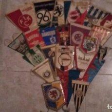 Coleccionismo deportivo: COLECCIÓN DE 23 BANDERINES DE EQUIPOS DE FÚTBOL. Lote 218234910