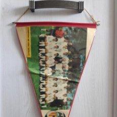 Collectionnisme sportif: VALENCIA CF 1970/71 LA LIGA CHAMPIONS - BANDERIN PENNANT ORIGINAL VINTAGE 36 X 22CM. Lote 218573206