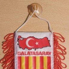Coleccionismo deportivo: BANDERÍN VINTAGE GALATASARAY. Lote 218624656