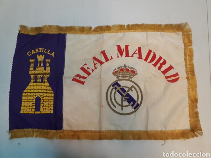 ANTIGUA BANDERA DEL REAL MADRID (Coleccionismo Deportivo - Banderas y Banderines de Fútbol)