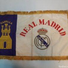 Coleccionismo deportivo: ANTIGUA BANDERA DEL REAL MADRID. Lote 218667817