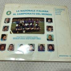 Coleccionismo deportivo: MUNDIAL ARGENTINA 78 ITALIA. Lote 218674808