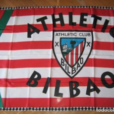 Coleccionismo deportivo: BANDERA FLAG ATHLETIC CLUB BIBAO EUSKADI BILBO 139 X 90 NUEVA NEW 100 % FLAGGE DRAPEAU R13. Lote 219279301