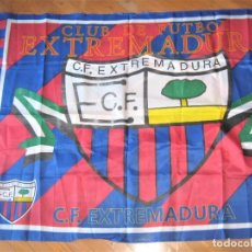 Coleccionismo deportivo: BANDERA FLAG CF EXTREMADURA UD ALMENDRALEJO BADAJOZ OFICIAL 149 X 101 NEW 100 % DRAPEAU R14. Lote 219279410