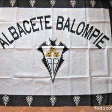 Coleccionismo deportivo: BANDERA FLAG ALBACETE BALOMPIE CASTILLA LA MANCHA 129 X 99 NUEVA NEW 100 % FLAGGE DRAPEAU R15. Lote 219279846