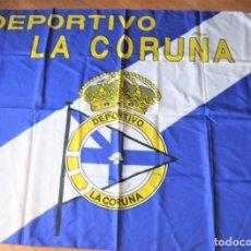 Coleccionismo deportivo: BANDERA FLAG DEPORTIVO LA A CORUÑA 129 X 98 NUEVA NEW 100 % FLAGGE DRAPEAU R23. Lote 219281307