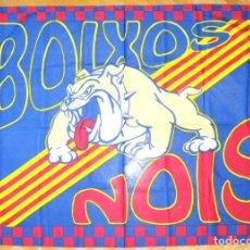 Coleccionismo deportivo: BANDERA FLAG BOIXOS NOIS ULTRA SUPPORTERS FC BARCELONA 132 X 94 NUEVA NEW 100 % R35-R. Lote 219283922