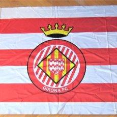 Collezionismo sportivo: BANDERA FLAG GIRONA GERONA FC CF MUY GRANDE 150 X 84 CM R34. Lote 220634123