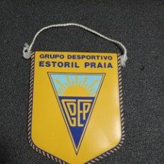 Colecionismo desportivo: BANDERIN G.D. ESTORIL PRAIA DE PORTUGAL. Lote 220800157