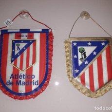 Coleccionismo deportivo: BANDERINES ATLETICO MADRID LIGA FUTBOL CHAMPIONS COPA DOBLETE BANDERIN. Lote 221612395