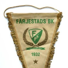 Coleccionismo deportivo: BANDERÍN FÄRJESTADS BK KARLSTAD 1932. Lote 221824942