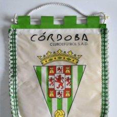 Coleccionismo deportivo: BANDERÍN CÓRDOBA CLUB DE FÚTBOL S.A.D. 1954. Lote 221826102