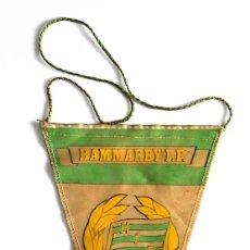 Coleccionismo deportivo: BANDERÍN HAMMARBY I.F 1897. Lote 221833380