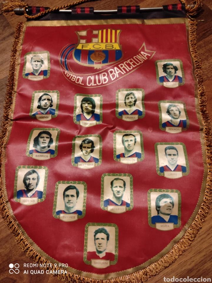 Coleccionismo deportivo: Banderín F.C. Barcelona .1971 - Foto 2 - 222284588