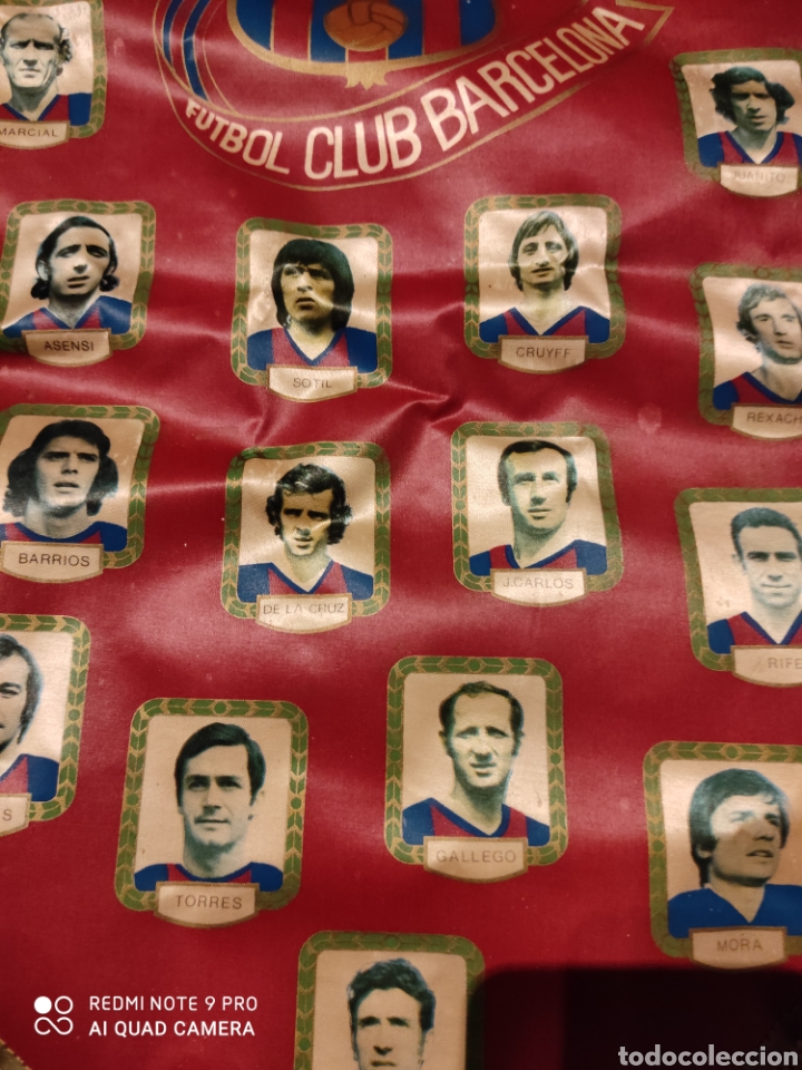 Coleccionismo deportivo: Banderín F.C. Barcelona .1971 - Foto 3 - 222284588