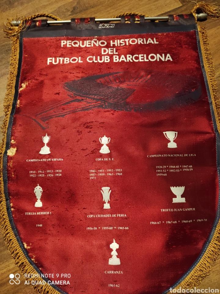 Coleccionismo deportivo: Banderín F.C. Barcelona .1971 - Foto 4 - 222284588
