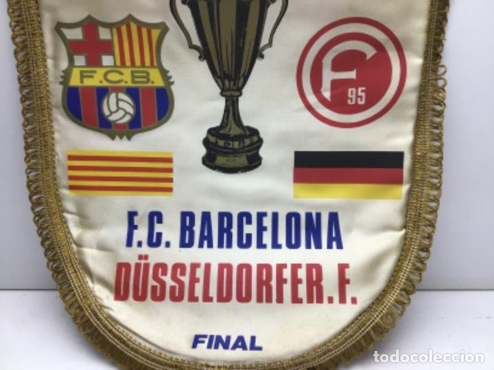 Coleccionismo deportivo: BANDERIN XIX RECOPA EUROPAPOKAL BASILEA 1979 - F.C.BARCELONA-DUSSELDORFER.F - Foto 3 - 222726940