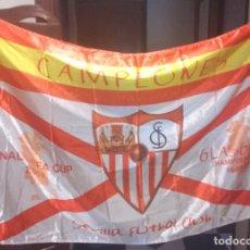 Coleccionismo deportivo: BANDERA SEVILLA FC FINAL UEFA CUP 2007. Lote 223826006