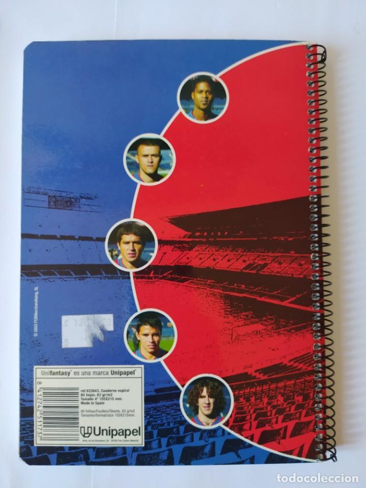 Coleccionismo deportivo: CUADERNO F.C. BARCELONA, LUIS ENRIQUE. - Foto 3 - 223857987