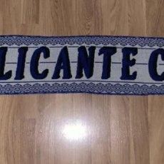 Collectionnisme sportif: BUFANDA ALICANTE C.F. - MEDIADOS DE LOS 2000 - FUTBOL. Lote 225708520
