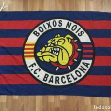 Coleccionismo deportivo: BANDERA BOIXOS NOIS ULTRAS FUTBOL CLUB BARCELONA BARÇA. Lote 226843350