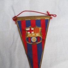 Coleccionismo deportivo: BANDERÍN FUTBOL CLUB BARCELONA. AÑOS 70.. Lote 228643310