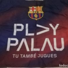 Collectionnisme sportif: BANDERA PALAU BLAUGRANA - FC BARCELONA - BARÇA. Lote 229921930