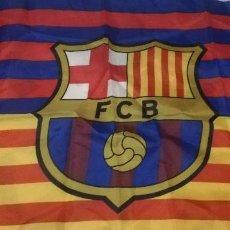 Coleccionismo deportivo: BANDERA FC BARCELONA - BARÇA - 75X50 CM. Lote 244601585