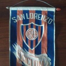 Coleccionismo deportivo: ANTIGUO BANDERIN DEL CLUB ATLETICO SAN LORENZO DEL ALMAGRO EL CICLON. Lote 230042005