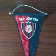 Coleccionismo deportivo: ANTIGUO BANDERIN DEL CLUB ATLETICO SAN LORENZO DEL ALMAGRO. Lote 230042355