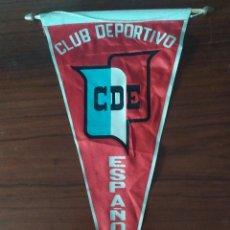 Coleccionismo deportivo: ANTIGUO BANDERIN DEL CLUB DEPORTIVO ESPAÑOL. Lote 230042485