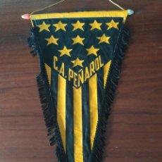 Coleccionismo deportivo: ANTIGUO BANDERIN DEL CLUB PEÑAROL DE URUGUAY. Lote 230044460