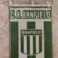 Coleccionismo deportivo: BANDERIN C.A. BANFIELD FUNDADO EN 1896 REPÚBLICA ARGENTINA. Lote 233273405