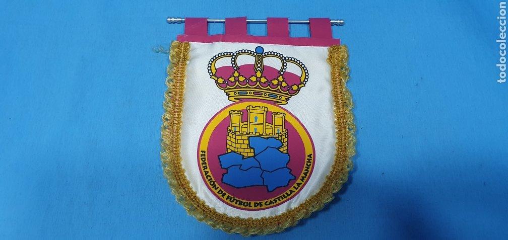 BANDERÍN - FEDERACIÓN DE FÚTBOL DE CASTILLA LA MANCHA (Coleccionismo Deportivo - Banderas y Banderines de Fútbol)