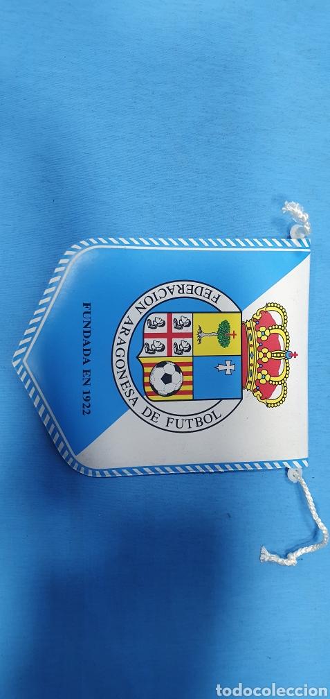 Coleccionismo deportivo: BANDERÍN - FEDERACIÓN ARAGONESA DE FUTBOL - Foto 2 - 235675960